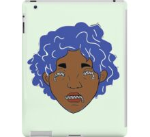 Zip: Maarika (color) iPad Case/Skin
