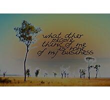 I LIKE TO THINK THAT © Vicki Ferrari Photographic Print