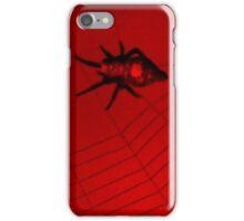Red & Black Spider 2 iPhone Case/Skin