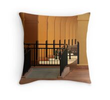 The Venice Train Station Throw Pillow