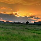 Woodsetts Sunset by David Tait