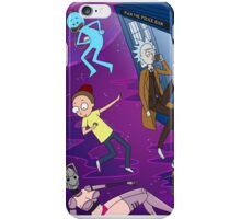 Rick and Morty - Doctor Who Mash Up!  iPhone Case/Skin