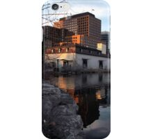 From Old to New - Waterfront Buildings in Hull Quebec iPhone Case/Skin