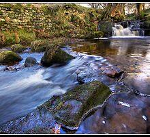 Waterfall at Wycoller by Shaun Whiteman
