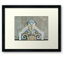 Art Deco Detail in the Adams Building, Library of Congress, Washington D.C. Framed Print