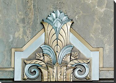Art Deco Detail in the Adams Building, Library of Congress, Washington D.C. by Carol M.  Highsmith