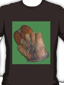 Two Vintage Baseball Mitts T-Shirt