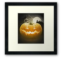 Pumpkin I. Framed Print