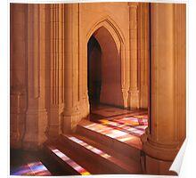 National Cathedral Steps, Washington, D.C. Poster