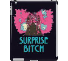 Surprise Bitch  iPad Case/Skin