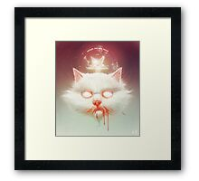 The Hell Kitty Framed Print