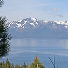 """""""Lake Tahoe and Mount Tallac"""" by Lynn Bawden"""