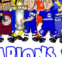 Chelski CHAMPIONS 2015 (no bus) Sticker