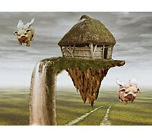 When Pigs Fly Photographic Print
