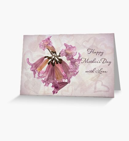 Hearts & flowers for Mother's Day Greeting Card