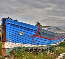 Lindisfarne Fishing Boat by David Tait