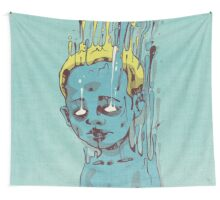 The Blue Boy with the Golden Hair Wall Tapestry