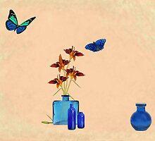 Bottles and Butterflies by redqueenself