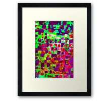 SUMMER'S RAGE  Framed Print