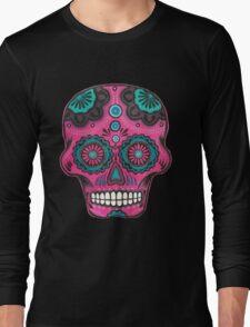 Sugar Skull-Pink Candy T-Shirt
