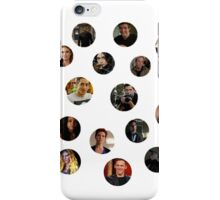 Teen Wolf Cast Dots iPhone Case/Skin