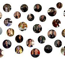 Teen Wolf Cast Dots by jordams124
