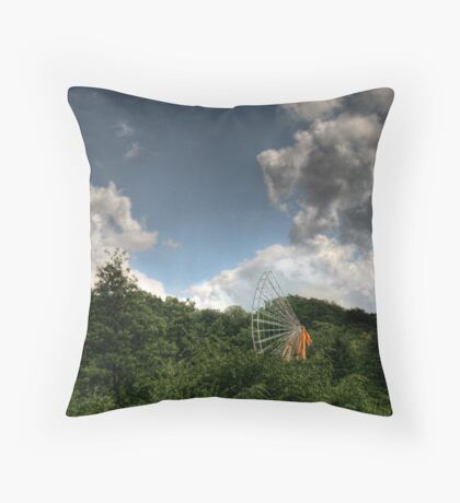 carnival's over. Throw Pillow