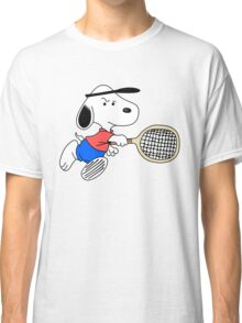 Arcade Classic - Snoopy Tennis Classic T-Shirt