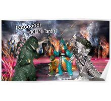 Noooooo! Not the Tardis! Poster