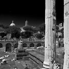 Temple of Mars Ultor, Imperial Rome by John Nelson Photography