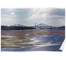 Drum Sands Road & Rail Bridge View Poster