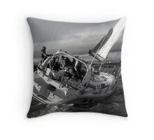 Charting The Course Throw Pillow