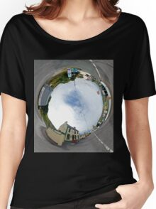 Glencolmcille - Biddy's Crossroads Pub(Sky-in) Women's Relaxed Fit T-Shirt