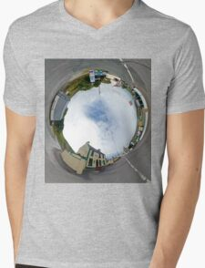 Glencolmcille - Biddy's Crossroads Pub(Sky-in) Mens V-Neck T-Shirt