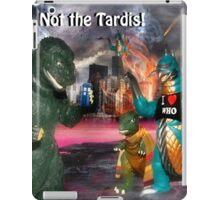 Noooooo! Not the Tardis! iPad Case/Skin