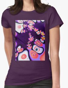 Water Lilies 2.1  Womens Fitted T-Shirt