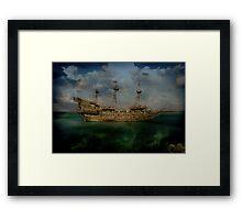 The Flying Dutchmen Framed Print