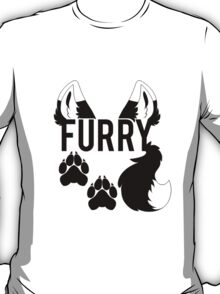 FURRY -clear tips- T-Shirt