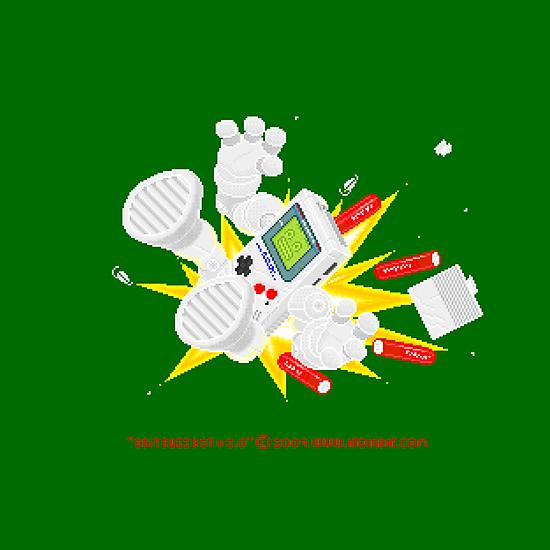 """8 Bit Buzz Bot v3.0.3 """"GameBoid""""  by atombat"""