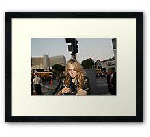 Leelee soberesky Framed Print