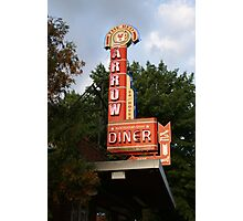 Red Arrow Diner, Manchester, NH Photographic Print