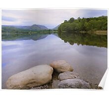 The Lake District: More Calm Waters at Grasmere Poster