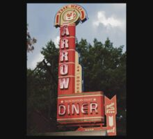 The Red Arrow Diner, Manchester, NH by gailrush