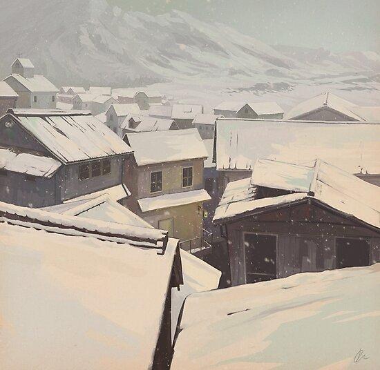 Winter Town by Jon-west