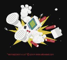"""8 Bit Buzz Bot v3.0.1 """"GameBoid""""  T-Shirt"""