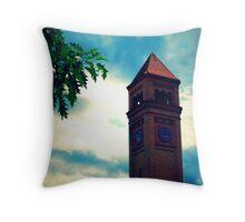 Clocktower Throw Pillow
