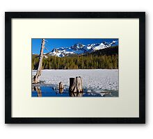 Lake Mary Framed Print