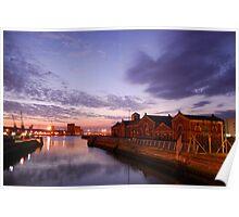 Alexandra, Thompson dry docks PUMPHOUSE Poster