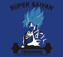 Super Saiyan Training God Level by Dori Designs