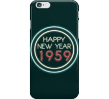 Happy New Year 1959 iPhone Case/Skin